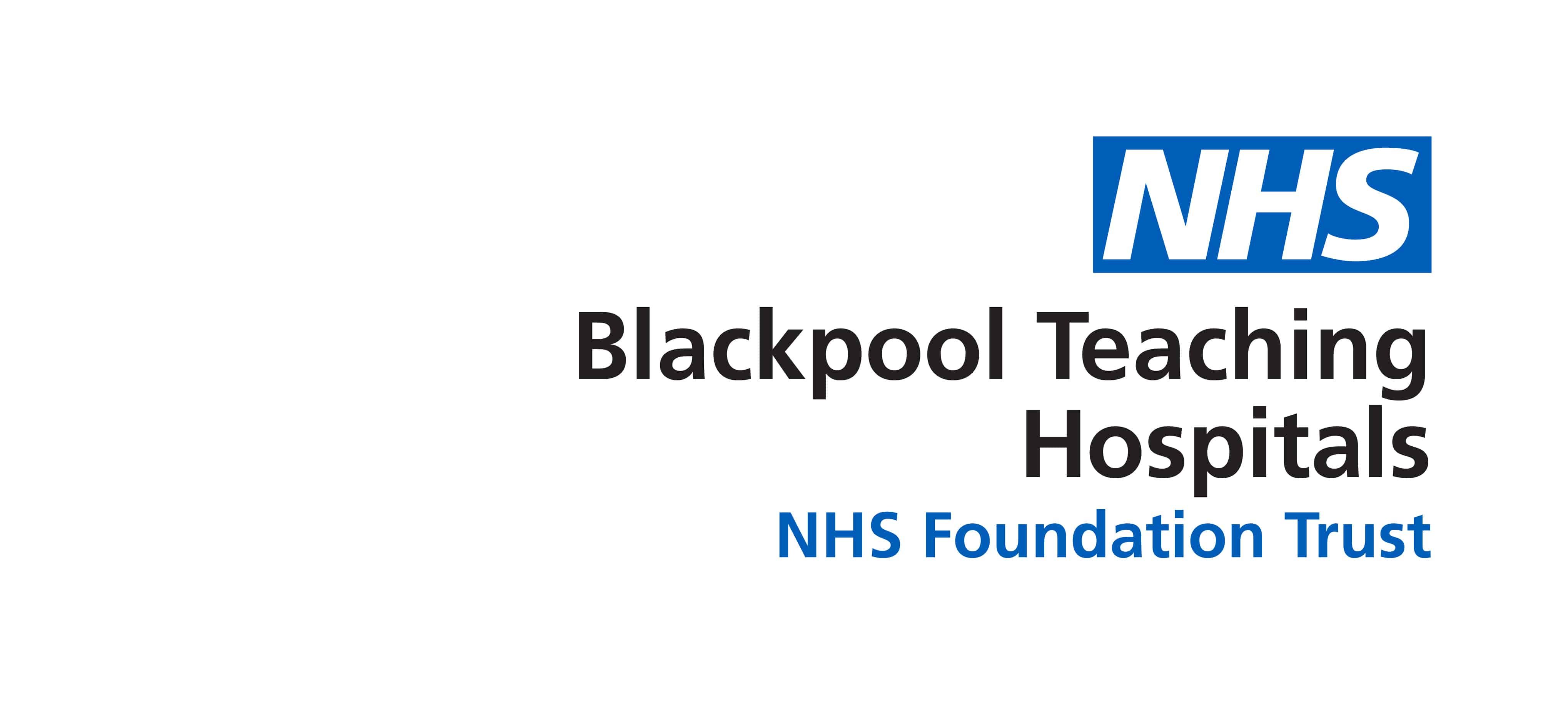 NEW Blackpool Teaching Hospitals NHS Foundation Trust RGB BLUE new logo ...